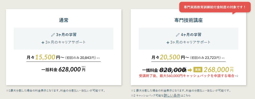DMM WebCampコース ryoukinn