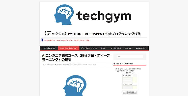 Techgym(テックジム)